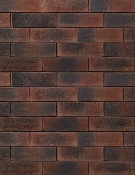 Синтра - 63 Красно-коричневый пестрый